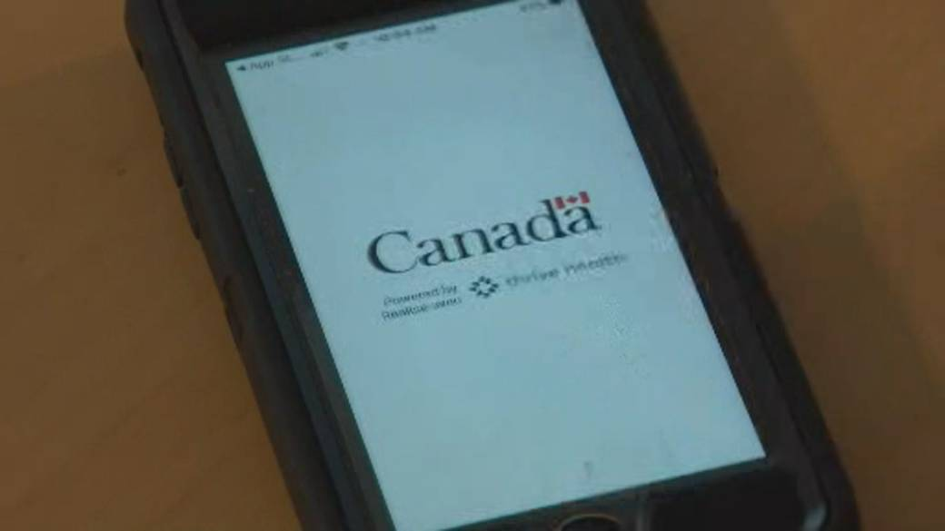 Click to play video 'National COVID-19 app launched in Nova Scotia'