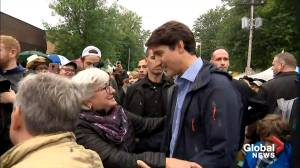 Federal Election 2019: Trudeau takes in western festival in St-Tite, QC