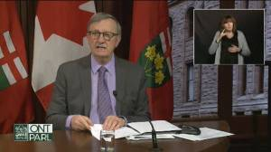 Coronavirus: Ontario's test positivity rate below 3 for first time in 4 months (00:35)