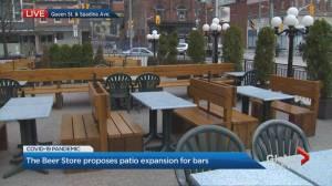 Coronavirus: Beer store urges patio reopening, expansion
