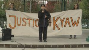 Rally calls for justice for man killed by police in Maple Ridge