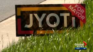 Caller admits to stealing 160 signs from Calgary mayoral candidate (02:16)