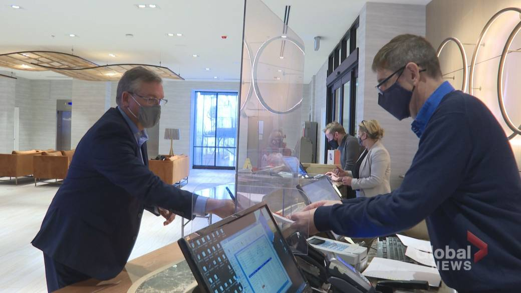 Click to play video 'Nova Scotia to launch program offering tax relief to hotel owners'