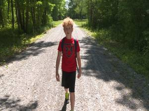 Westport boy raising money for clean water in developing nations