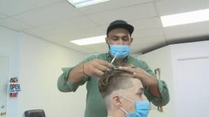 South Okanagan barber berated after opening new shop (02:17)