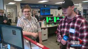 Amateur reporters get chance to shine at Global Edmonton