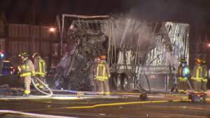 Winnipeg truck driver who caused crash in Toronto that killed 4 people sentenced to 8 years in prison (02:36)