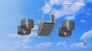Calgary engineers invent aircraft for skyscraper rescues
