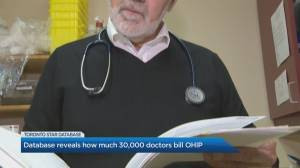 How much do doctors bill OHIP?
