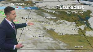 Warm front moves in: April 28 Saskatchewan weather outlook (02:34)