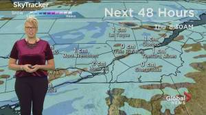 Global News Morning weather forecast: Wednesday December 12, 2019