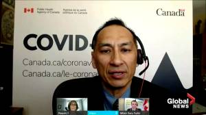 Canadian Health officials recommend 4-month interval between 1st and 2nd COVID-19 doses (01:21)