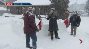 Pincourt snow castle challenge (03:31)