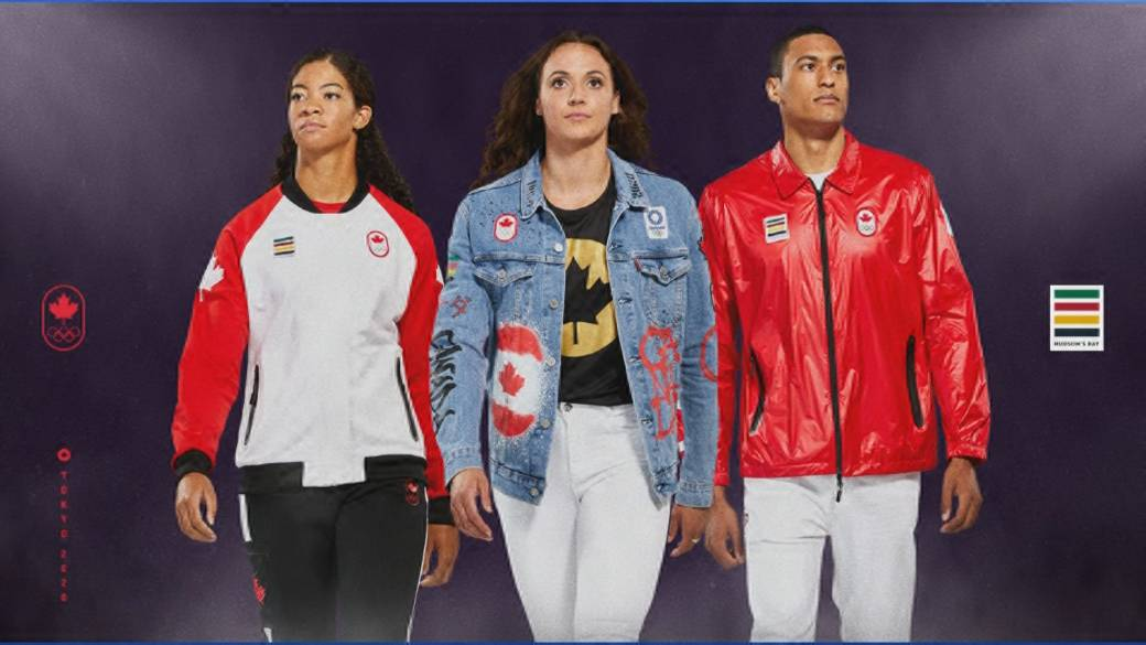 Click to play video 'Team Canada launches Tokyo 2020 Collection'