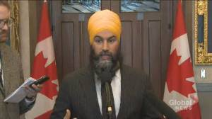 Singh says Trudeau hasn't given a 'clear indication' he'll meet with hereditary chiefs