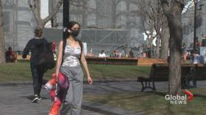 Majority of Quebecers say province too quick to ease public health guidelines: survey (02:05)