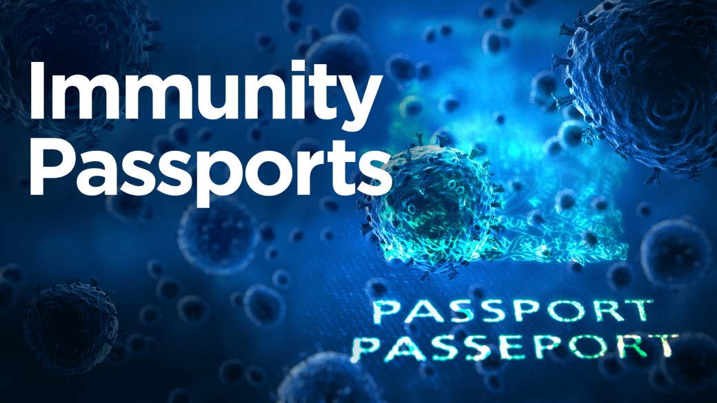 Click to play video 'Coronavirus outbreak: Could immunity passports become the new normal?'