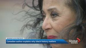 Canadian Black history author reflects on anti-black racism, death of George Floyd (02:25)
