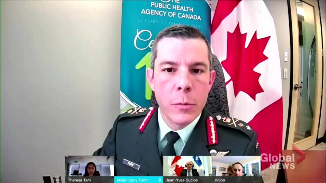 Click to play video 'Coronavirus: Pfizer to defer all COVID-19 vaccine shipments to Canada week of Jan. 25'