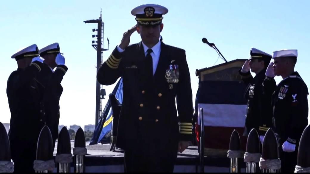 U S Navy Wants To Reinstate Ship Captain Fired For Raising