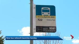 Edmonton's bus routes changes go into effect Sunday (01:49)