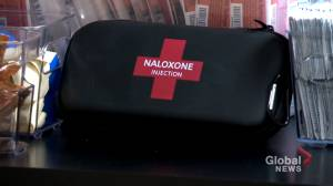 SPVM now using Naloxone in the fight against deadly drug overdoses (02:05)