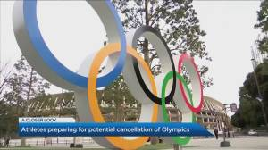 Preparing for the possible cancellation of the 2020 Tokyo Olympics