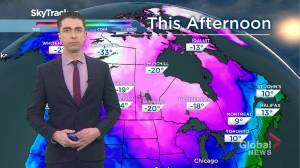 Saskatchewan weather outlook: Dec. 10