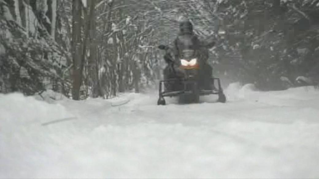 Police continue search for missing four snowmobilers from France who remain missing