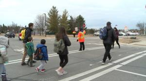 Safety top of mind for Crossing Guard Appreciation Day (01:51)