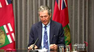 Over 70% of Manitoba's current COVID-19 hospitalizations are unvaccinated people (00:45)