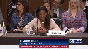 Simone Biles blames USA Gymnastics, FBI for enabling Nassar abuse (03:40)