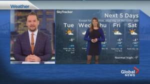 Global News Morning weather forecast: March 2, 2021 (02:41)
