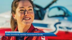 Halifax remembers Snowbirds Captain Jenn Casey