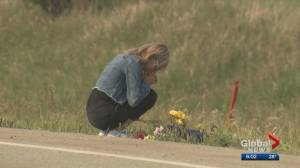 2 teens dead, 2 others injured after crash west of Calgary (02:02)