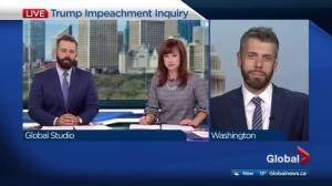 Expert in Washington breaks down the Trump impeachment inquiry
