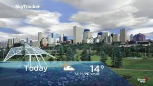 Edmonton early morning weather forecast: Wednesday, September 11, 2019