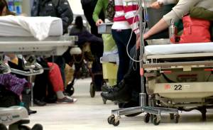 Winnipeg's hospitals over-capacity as flu season grips the city