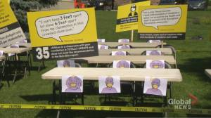 Safety-Palooza rally in Toronto calls for 'safe September' (02:24)