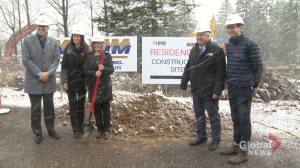 UNB breaks ground on greener student housing