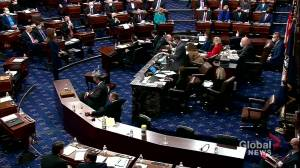Trump impeachment: U.S. Senate votes to call on witnesses to testify (02:19)