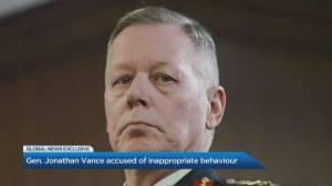 Gen. Jonathan Vance accused of inappropriate behaviour (05:13)