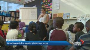 Coronavirus: Petition growing in Ontario demanding smaller class sizes
