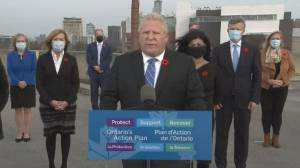 Ontario Premier Doug Ford calls Whole Foods policy banning employees from wearing poppies 'disgusting and disgraceful' (02:13)