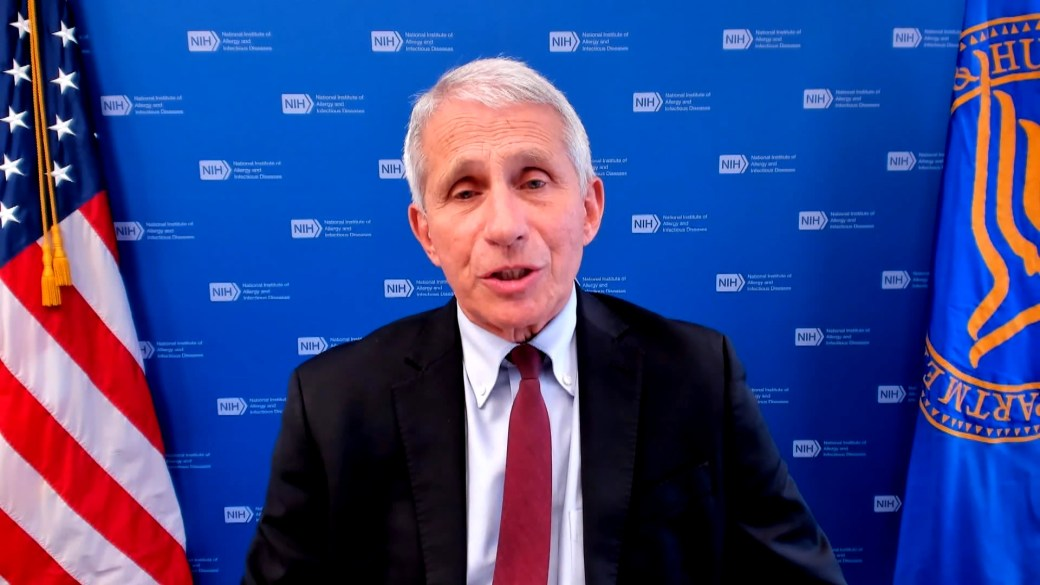 Click to play video: 'Fauci says to 'get tested' for COVID-19 even if fully vaccinated as Delta variant rages'