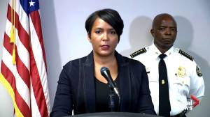 Atlanta mayor criticizes those 'wreaking havoc' after fatal shooting of 8-year-old girl