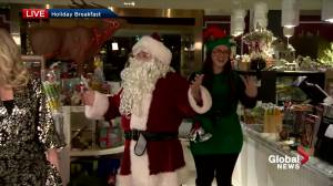 All smiles for Global News Morning's holiday breakfast show