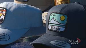 Calgarian creates 'singles apparel' to help those dating during COVID-19 pandemic (01:30)