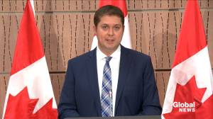 Coronavirus outbreak: Scheer says it's 'outrageous' Trudeau isn't concerned about fraudsters taking advantage of CERB