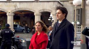 Throne Speech: Trudeau, Gov. Gen. Payette arrive